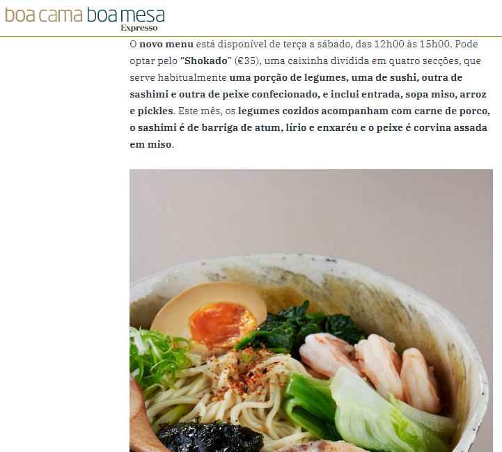 Kanazawa - Boa cama boa mesa